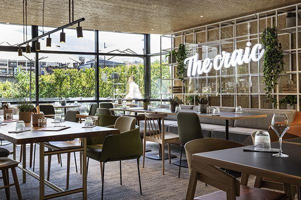 Le restaurant Craie du Novotel Annecy.