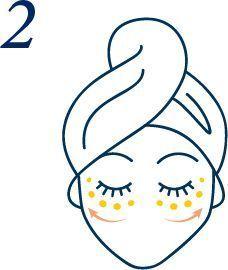 Un massage du contour des yeux.