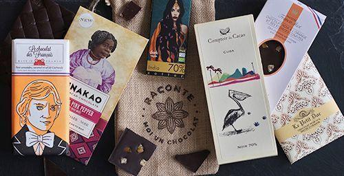 La box Raconte moi un chocolat.