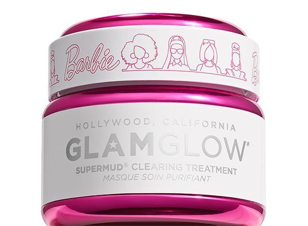 Le masque Supermud Barbie Glamglow.