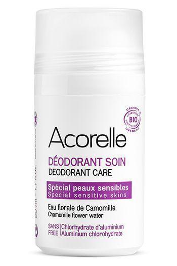 Le déodorant soin Acorelle.