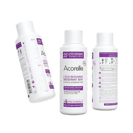 La recharge du déodorant Acorelle.