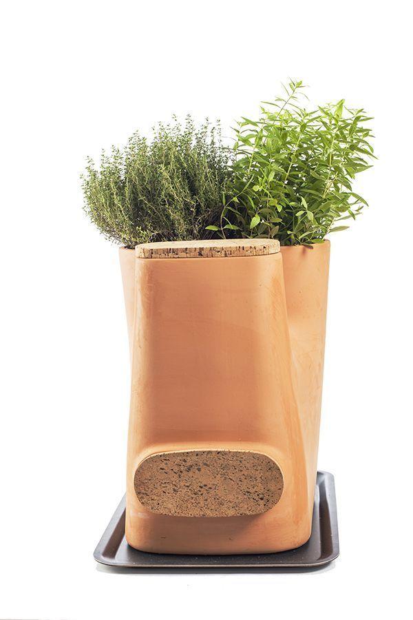 Le composteur pot de fleurs Transfarmers.