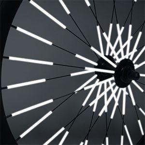 Les réflécteurs pour rayons de vélo Rainette.