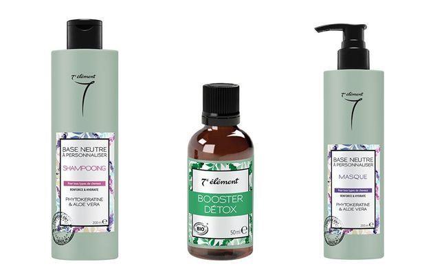 La gamme pour cheveux personnalisable ElemenTerre.