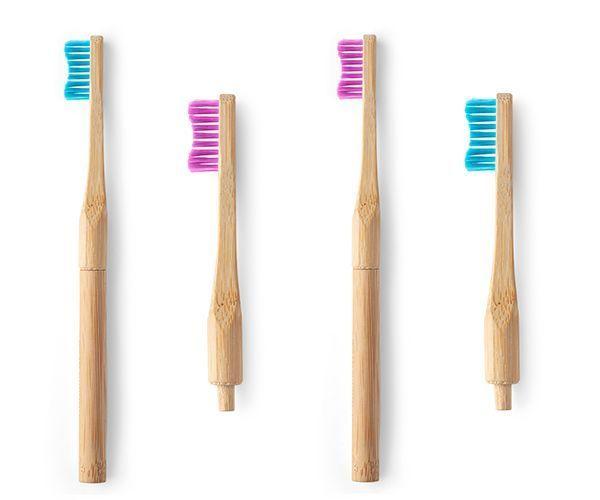 Des brosses à dents écologiques.