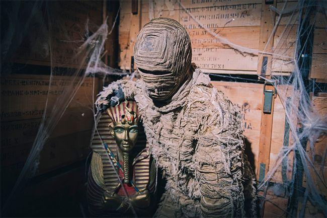 Une momie du Parc Astérix.