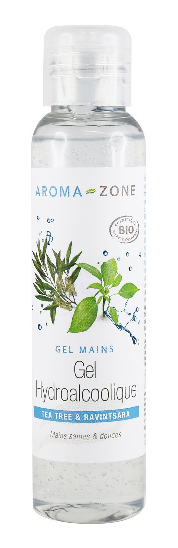 Le gel hydroalcoolique Aroma Zone