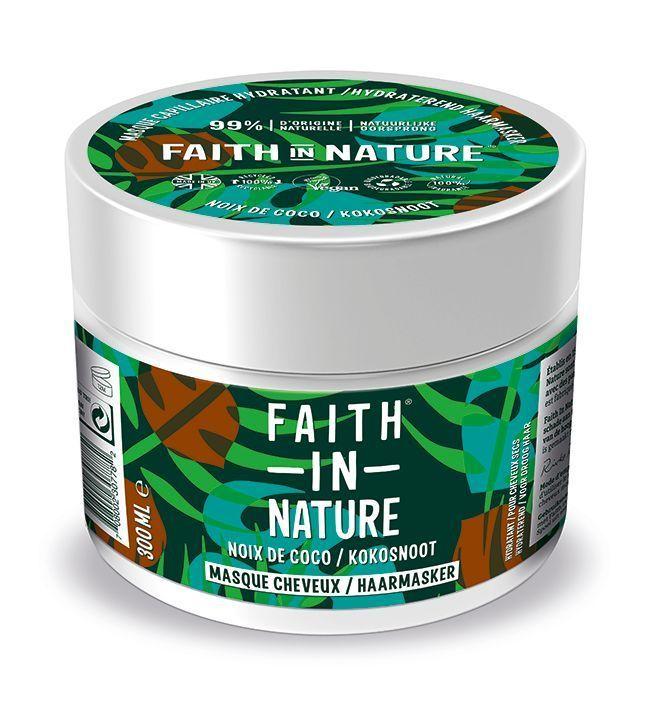 Le Masque Hydratant Noix de Coco Faith in Nature.