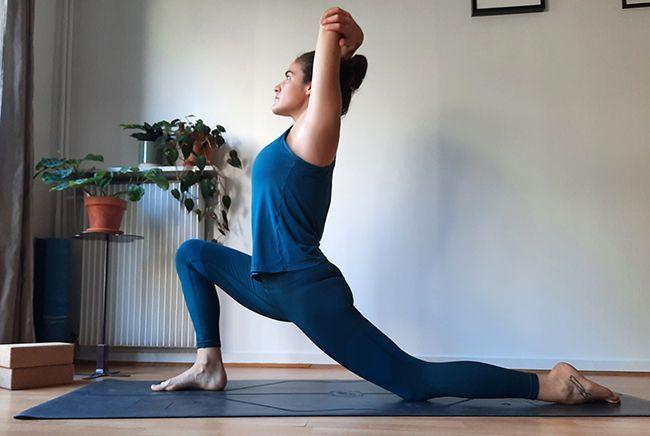 Une posture de yoga pour retrouver l'envie sexuelle.