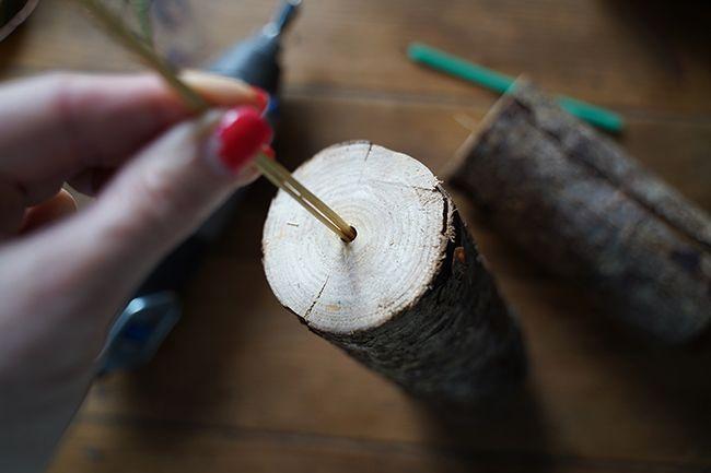 DIY de Noël en bois.