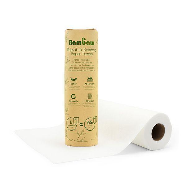 Le sopalin lavable et réutilisable Bambaw.