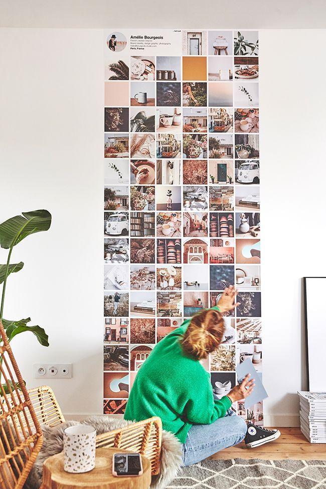 Hellowall le papier peint personnalisé avec ses photos.