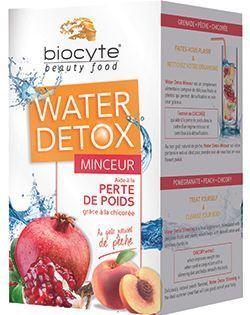 Water détox biocyte à la chicorée.