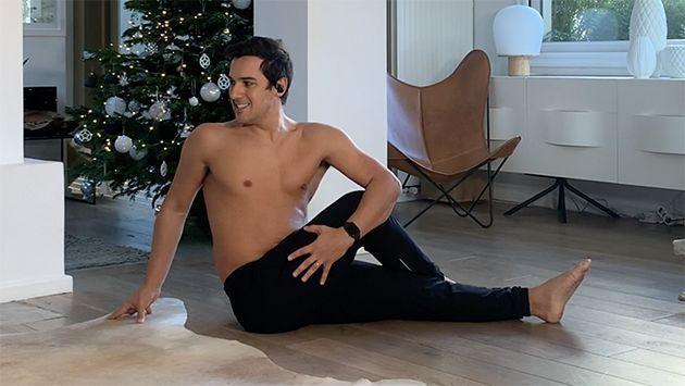 Une posture de yoga pour détoxifier le corps.