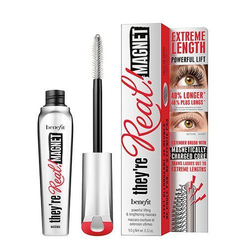 Le test du mascara They're real magnetic de Benefit.