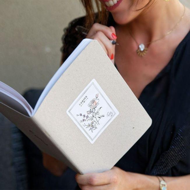Le cahier l'amour made in Provence pour la Saint-Valentin 2021.