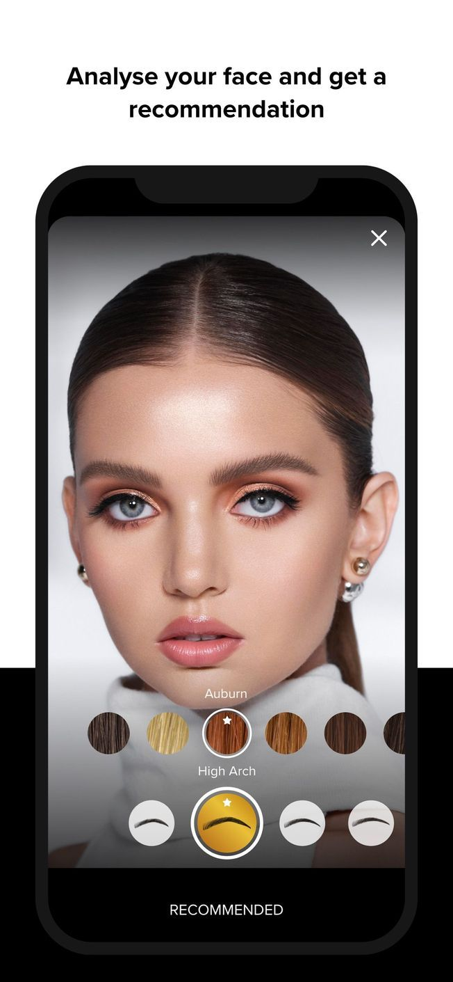 L'application sourcils d'Anastasia Beverly Hills Brow App.