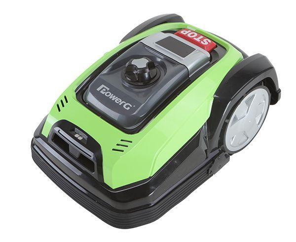 La tondeuse Robot Power G Carrefour à petit prix.