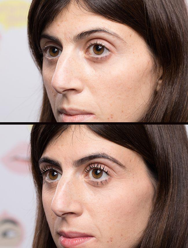 Un tuto sourcils avant après pour un visage diamant en losange.