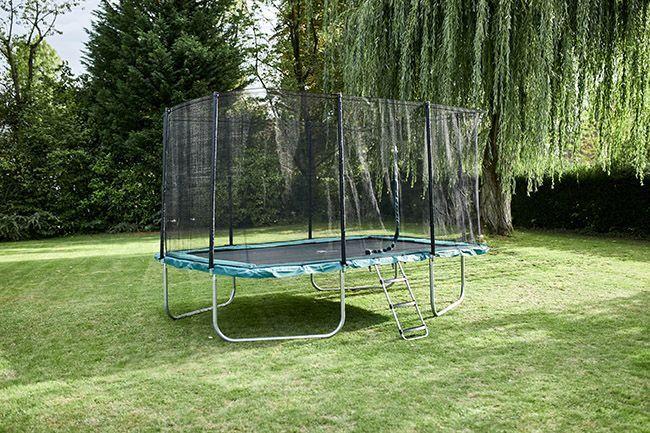 Le trampoline rectangulaire Domyos Decathlon 520.