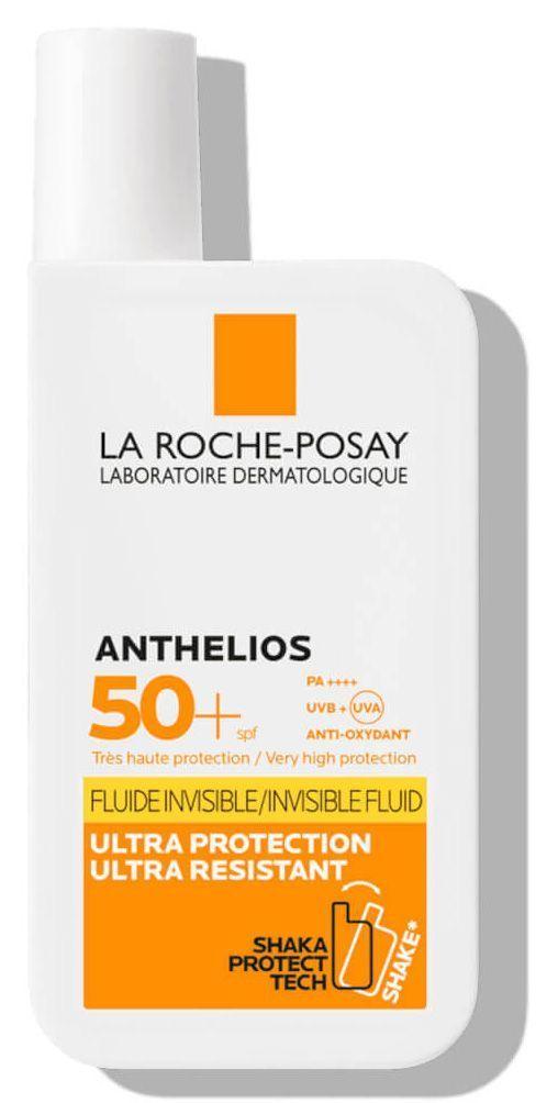 Anthelios Shaka Fluide SPF 50 La Roche Posay.