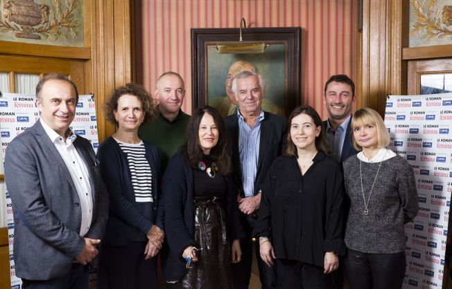 Le jury du prix du roman Version Femina 2019.