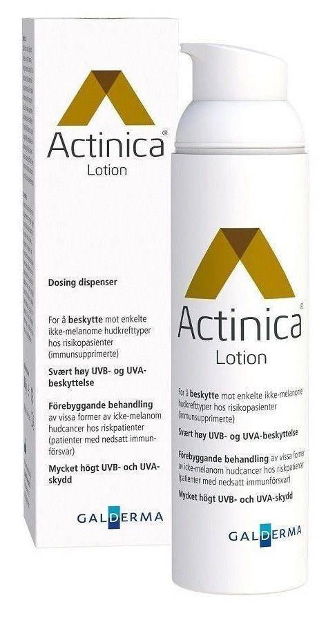 Lotion Actinica, Galderma.