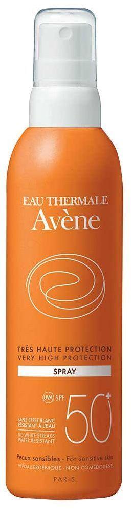 Spray SPF 50+, 200ml, Avène.