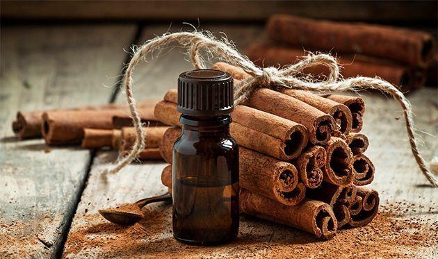 De l'huile essentielle de cannelle pour mincir.