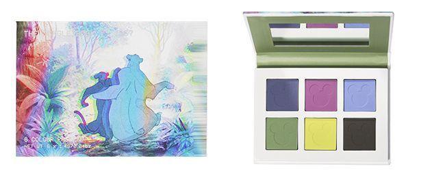 La palette de maquillage Balou du Livre de la jungle Disney.