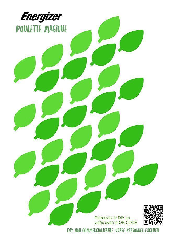 Des feuilles en papier pour un tuto déco.