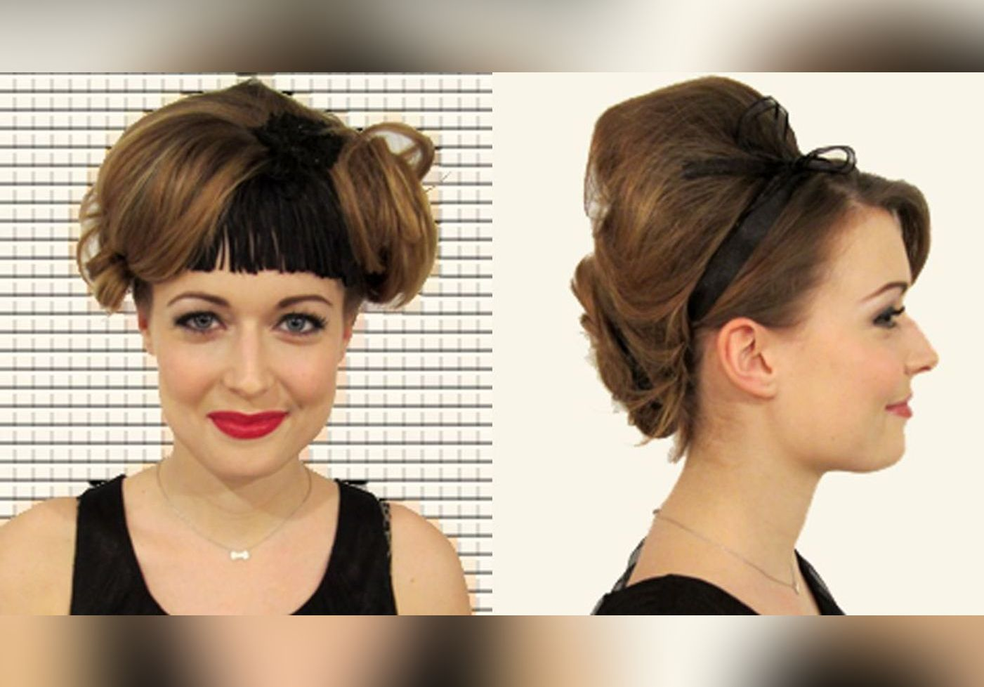 Coiffures Retro Tutoriels Cheveux En Photos Version Femina