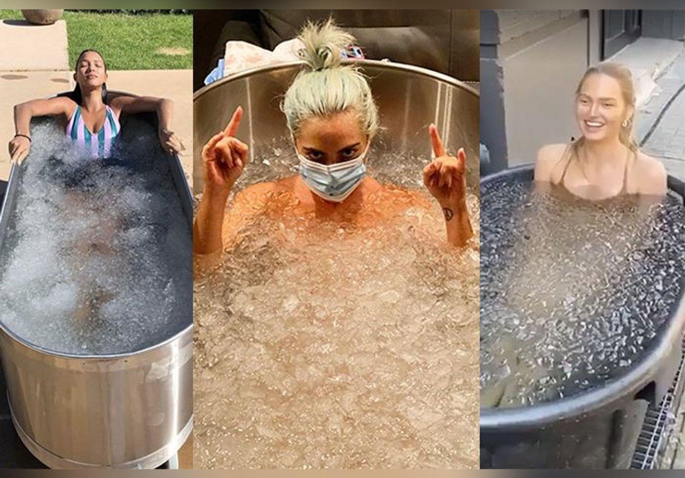 Voici pourquoi tout le monde prend des douches froides et des bains de glaçons... La tendance crée le buzz sur Instagram