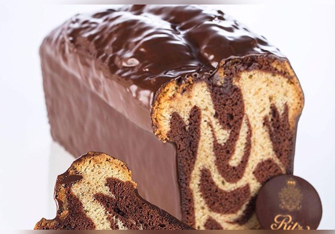 Mercotte révèle la recette du cake marbré du Ritz signée du meilleur chef pâtissier du monde… Une saveur d'antan, un goût d'enfance