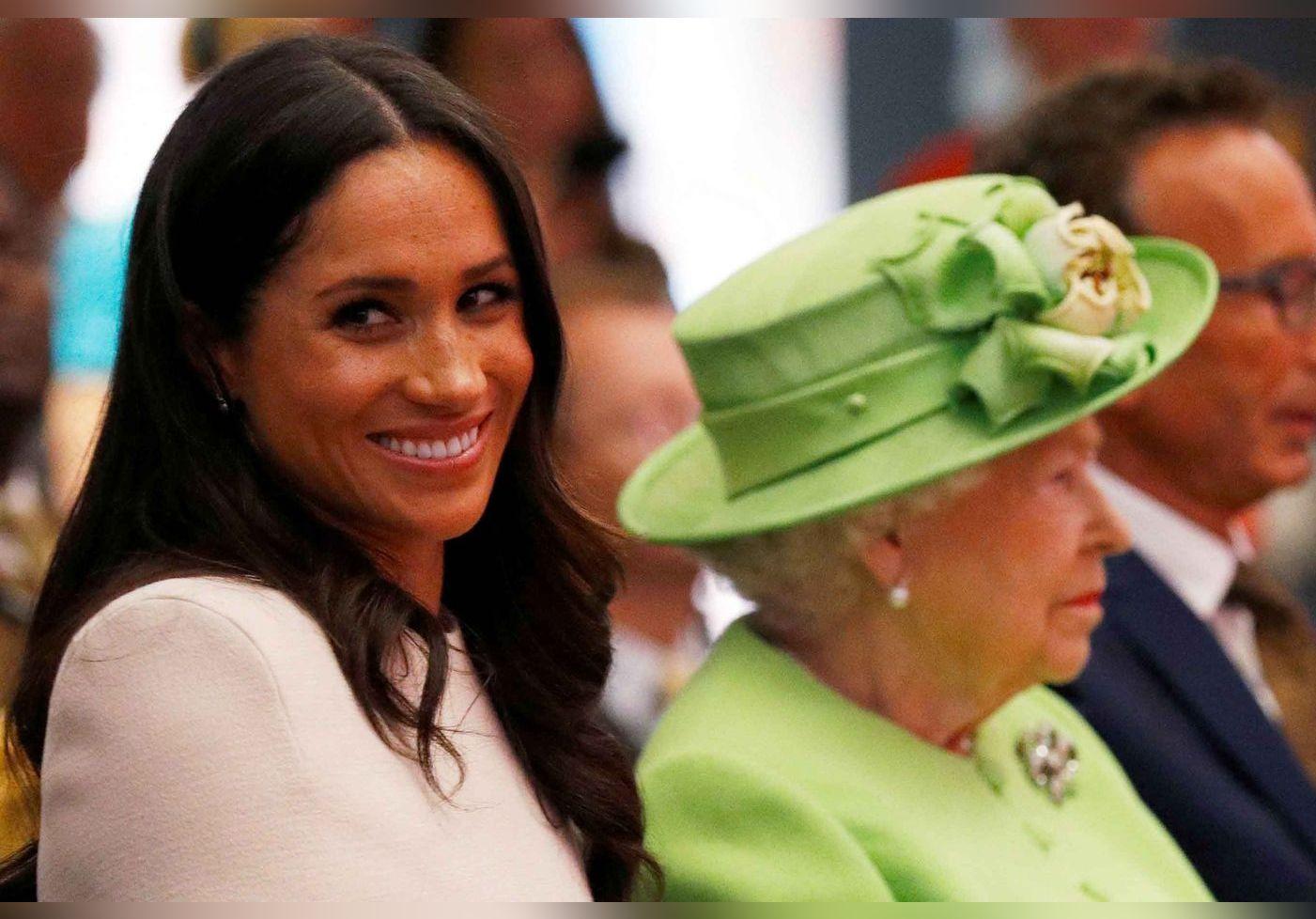 Victoire de Meghan Markle : comment Elizabeth II est intervenue discrètement en sa faveur