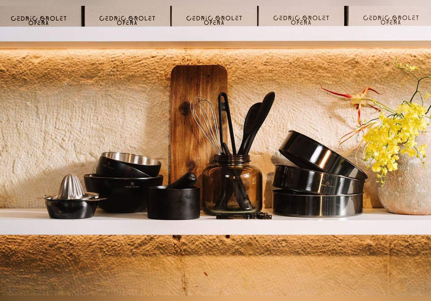 Ce grand pâtissier signe des ustensiles de cuisine à tout petit prix avec Zara Home