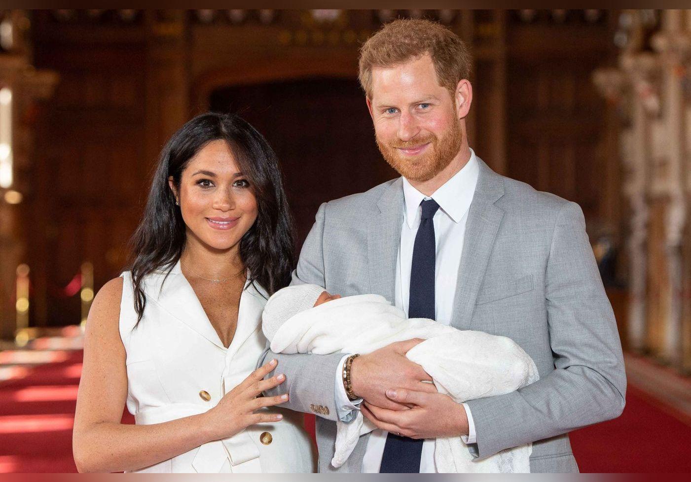 Meghan Markle et le prince Harry partagent la première photo de Lili, leur fille !
