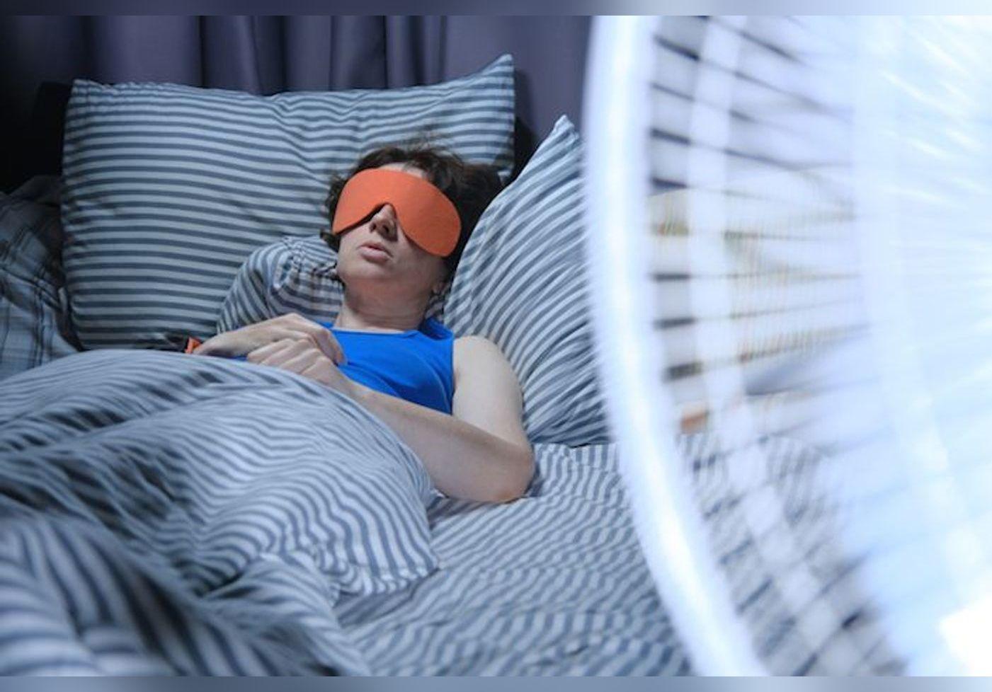 Sommeil : il ne faut absolument pas s'endormir avec son ventilateur allumé. Découvrez pourquoi...