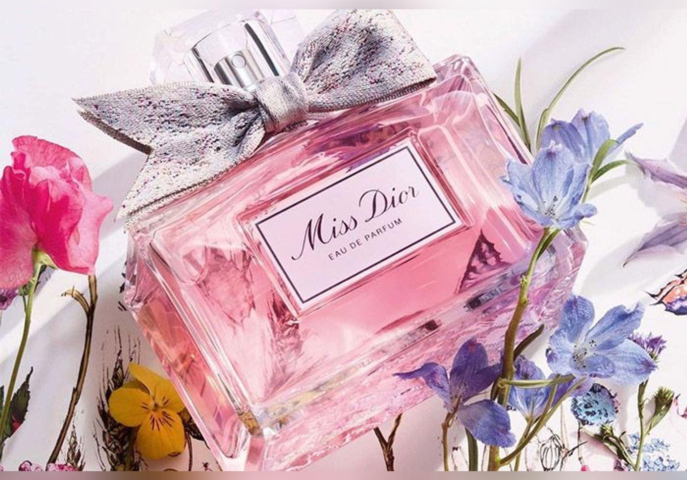 Le nouveau parfum Miss Dior est sous le signe de l'amour et de la rose