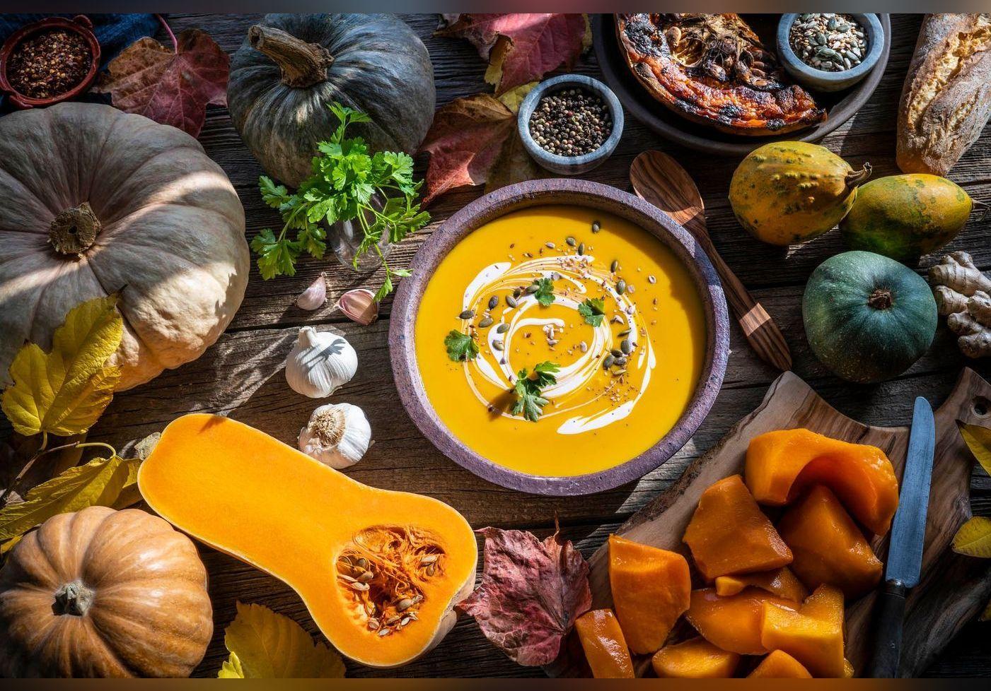 Juan Arbelaez nous régale avec sa soupe butternut et châtaignes. Une recette réconfortante pour surmonter l'automne