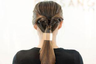Coiffure gala cheveux longs facile