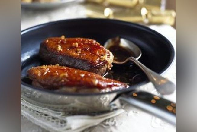 Aiguillettes de canard la sauce soja et riz la cannelle - Cuisiner les aiguillettes de canard ...