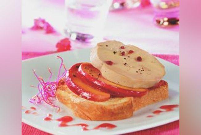 foie gras mi cuit sur canap brioch de pommes recette. Black Bedroom Furniture Sets. Home Design Ideas
