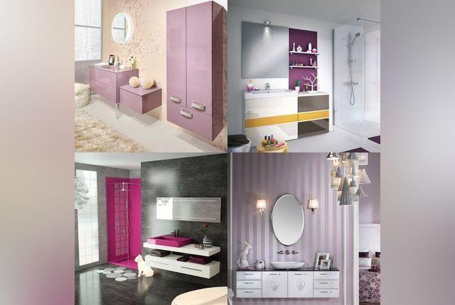 des salles de bains spéciales femmes - elle décoration. féminin ... - Salle De Bain Feminine