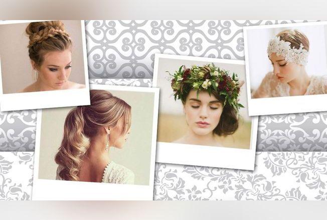 100 coiffures de mariage pour cheveux courts et longs