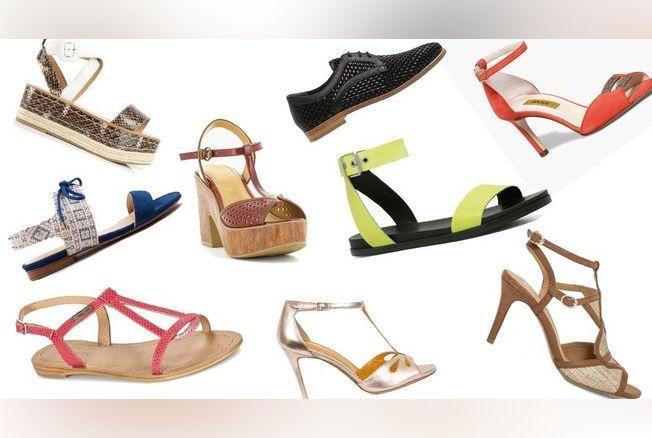 30b58a514a5 Chaussures femme   40 modèles printemps-été 2016
