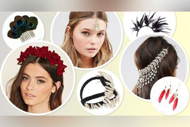 hot-vente plus récent nouveau style et luxe style de mode 30 accessoires cheveux hippie chic