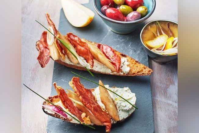 Recette de la bruschetta de tartare ail sauvage poire for Ail sauvage cuisine