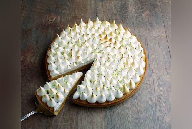 Recette tarte au citron meringu e recette de chef version femina - Recette tarte citron meringuee ...